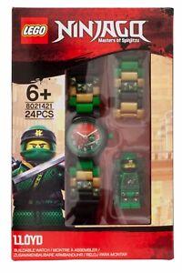 LEGO® Ninjago Lloyd Minifigure Link Watch Build Your Own Colours