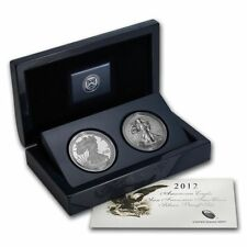 2012 American Eagle San Francisco Two Coin Silver Proof Set Packaging and COA