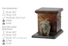 Neapolitan Mastiff, dog urn made of cold cast bronze, ArtDog, Usa - kind2