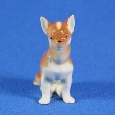 "Chihuahua ""Jorge"" Lomonosov Porcelain Figurine Russia USSR IFZ"