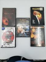 Horror DVD 5-Disc Bundle-Saw Misery Exorcist Halloween Texas Chainsaw Massacre