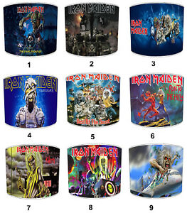 Iron Maiden Lampshades Ideal To Match Wall Posters Albums Bedding Curtains