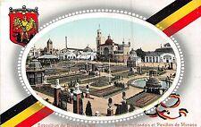 POSTCARD  EXHIBITION  BRUXELLES   1910    Pavillions  Holland  and  Monaco