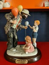 Flambro Emmett Kelly Jr. Making New Friends Limited Edition 2902 Of 9500