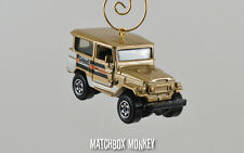 Custom '68 Toyota Land Cruiser FJ40 Christmas Ornament 1/64 SUV Jeep Range Rover