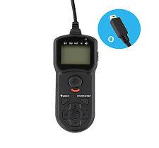UK Store! CameraPlus® Timer Remote Shutter Cord for Fujifilm RR-80A (TM-O)