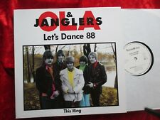 """Ola & Janglers - Let´s Dance 88 ~ Party Live Recording (1988) GERMANY 12"""" Maxi"""