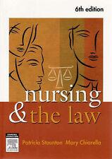Nursing and the Law by Mary Chiarella, Patricia Staunton (Paperback, 2007)
