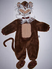 TOM ARMA SIGNATURE COLLECTION SNOW MONKEY COSTUME 12-18 MO HALLOWEEN