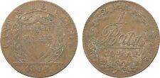 Suisse, 10 rappen (batzen), 1813 canton de Vaud, billon - 40