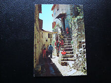 FRANCE - carte postale - eze (vielle ruelle du village) 1987 (cy29) french