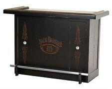 Jack Daniel's® Hardwood Bar with 5 shelves & Foot Rest