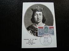 FRANCE - carte 16/11/68 - philippe IV le bel etats generaux -yt n° 1577 (cy4)