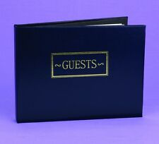 All Occasion Personalized Guest Book - Navy, Black or Burgundy