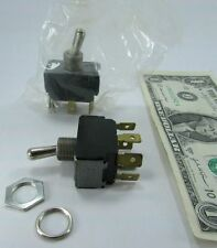 Lot 2 Cutler Hammer Toggle Switches On-On 2-Pole 7592K9 NSN 5930-01-091-9732