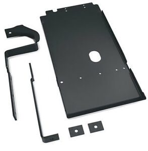 Warn Oil Pan Skid Plate - Black PC For 97-03 Jeep Wrangler TJ 4.0L I6 65020