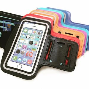 Handy Sport Armband Tasche Halter Hülle Joggen Fitness Schutz für iPhone 6 6s