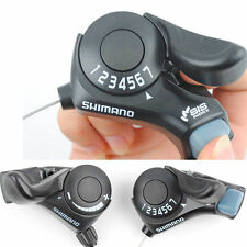 Mountain Bike SL-TX30 Thumb Gear Shifter 3x7 Speed Shift Lever Set for Shimano