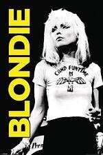 Blondie Poster-Camp Funtime-Cartel de música clásica Blondie Blanco y Negro