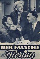 NFP 666 - DER FALSCHE FLORIAN - Theo Lingen, Susi Nicoletti 1957 RARE