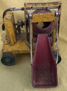 Vintage BUDDY L Concrete Mixer 1930s