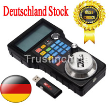 DE Wireless Mach3 MPG Pendant LCD Handwheel controller for CNC Mach3 4 axis t
