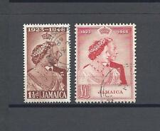 JAMAICA 1948 SG 143/4 USED Cat £75.10