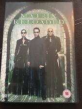 Matrix Reloaded DVD with Keanu Reeves