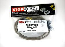 STOPTECH STAINLESS STEEL FRONT BRAKE LINES FOR 03-08 INFINITI FX45 / 09-11 FX50