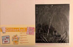 A4 Glitter Foil Sheet & Sticker Sheet