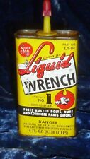 Solder Seal Liquid Wrench No. 1 Super Penetrant 4 Fl. Oz. Tin about 1/4 Full