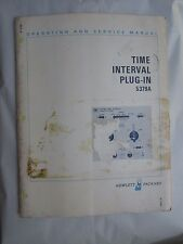 HEWLETT PACKARD 5379A TIME INTERVAL PLUG-IN OPERATING & SERVICE MANUAL