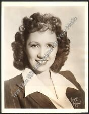 """1942 Francia White """"Telephone Hour"""" Official NBC RED Network 8x10 Photo"""
