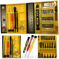 38 in 1 Tool Repair Mobile Cell Phone PC Screwdriver Kit Set Pentalobe & Torx UK