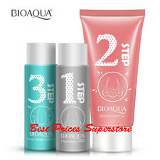 BIOAQUA Complex Pore Cleansing Blackheads Nose Removal 3 Steps Mask Set peel off