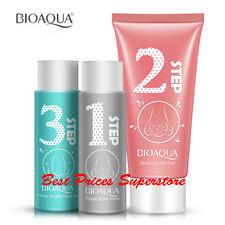 BIOAQUA Complex Pore Cleansing Blackheads Nose Removal 3 Steps Mask Set peel off