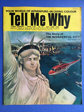TELL ME WHY - The Story of the wonderful city - no.44 - Juin 1969 - MAGAZINE