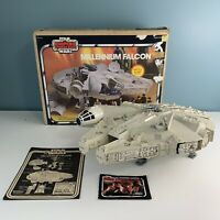 Vintage 1981 Star Wars Millennium Falcon ESB w/ Box Instructions Near Complete