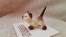 Hagen Renaker Cat Curious Kitty Siamese Figurine Miniature Free Shipping 00869
