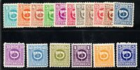 JL Austria Stamp # 4N1-4N17 MH!!!! A72