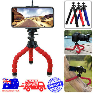 Camera Phone Holder Flexible Octopus Mini Tripod Stand For iPhone and others