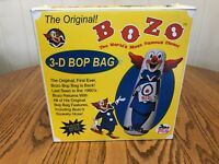 the original Bozo the clown, the worlds most famous clown 3-D bop bag new in box