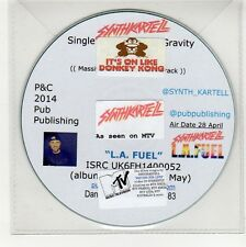 (GG255) Synth Kartell, L.A. Fuel - 2014 DJ CD