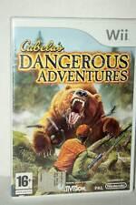 CABELA'S DANGEROUS ADVENTURE USATO OTTIMO NINTENDO Wii ED ITA PAL FR1 38707