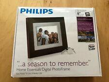 "Philips SPF3408T/G7 Photo Frame 8"" 4:3 Digital Frame w/ Charger & Controller"