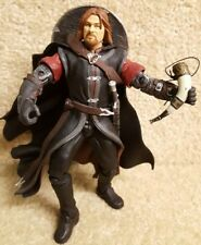 Complete Toybiz Lord of the Rings Fellowship Boromir w/ Battle Attack Action