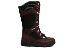 Timberland Tall Field Boots Girls Size 6 / Womens Size 8 Burgundy I F1