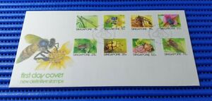 1985 Singapore First Day Cover New Definitive Stamps Low Value Stamp Issue