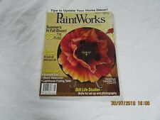 Paint Works Magazine august 2008  with pattern free uk P&P