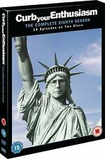 Curb Your Enthusiasm Complete Series 8 DVD All Episode Eigth Season UK Release